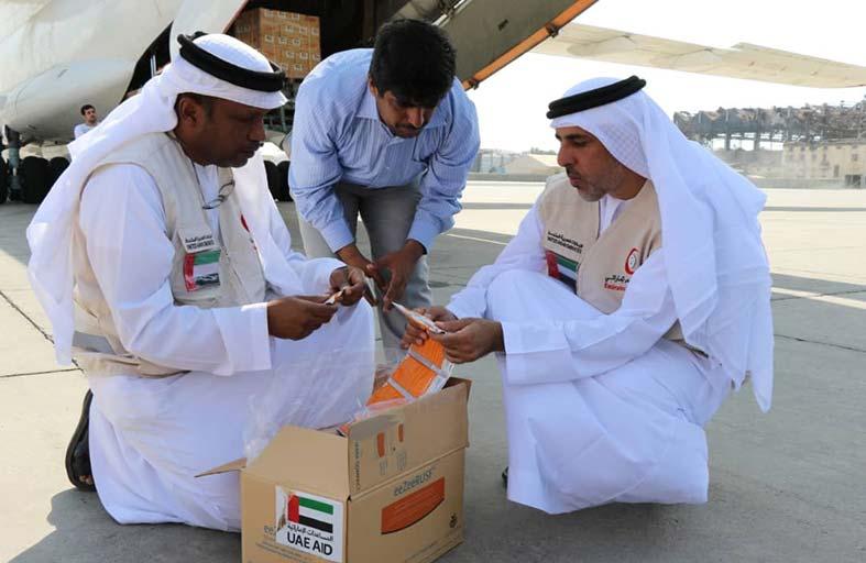الإمارات تقدم 33 طنا من المكملات الغذائية لليمن للحيلولة دون إصابة الأطفال بسوء التغذية الحاد