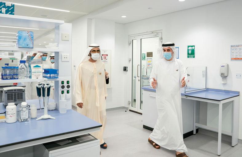 محمد بن راشد: خطوة جديدة في طريق الاهتمام بالإنسان والحفاظ على صحته وضمان مستقبله