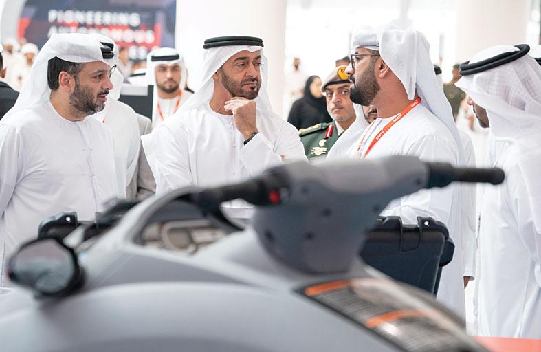 محمد بن زايد: قيمة التكنولوجيا تكمن في قدرتها على تغيير حياة البشر إلى الأفضل