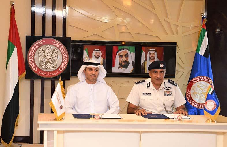 الإمارات للفضاء وشرطة أبوظبي توقعان مذكرة تفاهم لتفعيل الشراكة بينهما