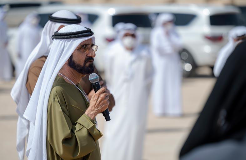 محمد بن راشد ومحمد بن زايد يكرّمان فريق مسبار الأمل لاستكشاف المريخ ويؤكدان أن الإمارات تمتلك أفضل الفرق الوطنية للمستقبل