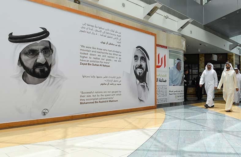 محمد بن راشد يؤكد سعي الإمارات لتكون محركا رئيسيا لصناعة المستقبل