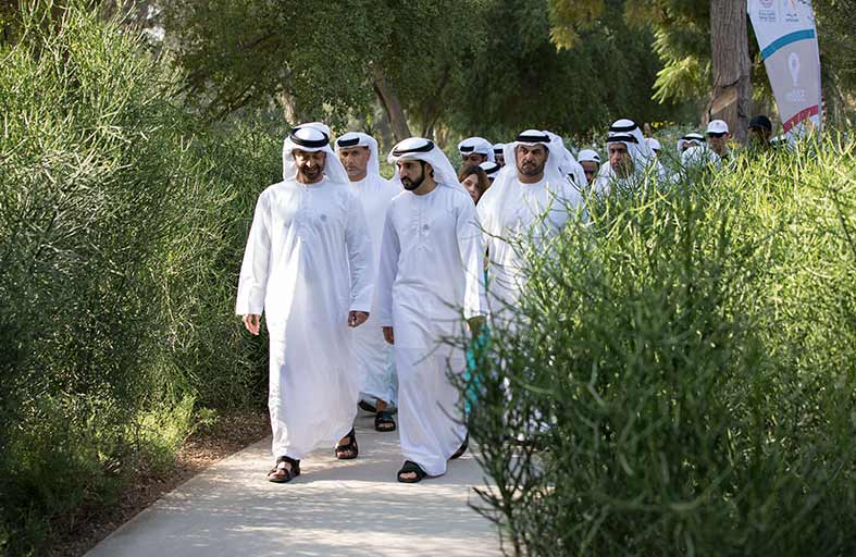 779edee2b Alfajr News | Alfajr News | محمد بن زايد وحمدان بن محمد يشاركان في ...