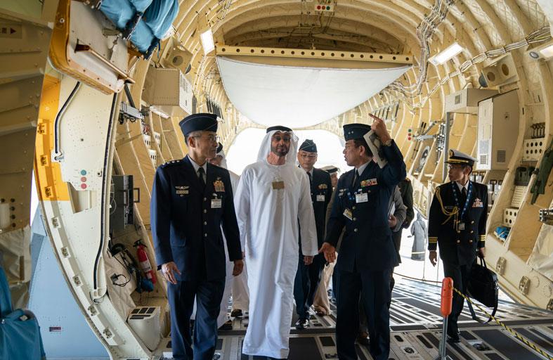 محمد بن زايد: ثقة عالمية متنامية بصناعة الطيران الإماراتية ومنتجاتها