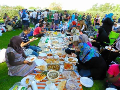 الجالية المصرية في دبي تنظم مهرجان الأطعمة المصرية