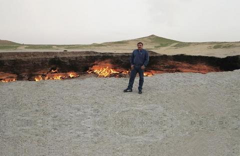 «بواية الجحيم» أشعلها السوفييت وحولها التركمان إلى مزار سياحي