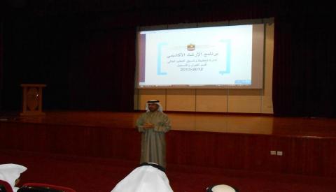 بالتعاون مع وزارة التعليم العالي والبحث العلمي ..  مدارس الإمارات الوطنية تنظم يوماً إرشادياً لطلبة المرحلة الثانوية