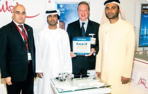فندق جلوريا 1 من 3 فنادق في دبي ضمن أفضل مائة في العالم