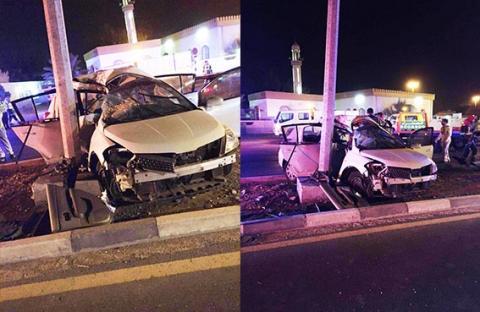مصرع عربي وإصابة أخر في حادث مروري برأس الخيمة
