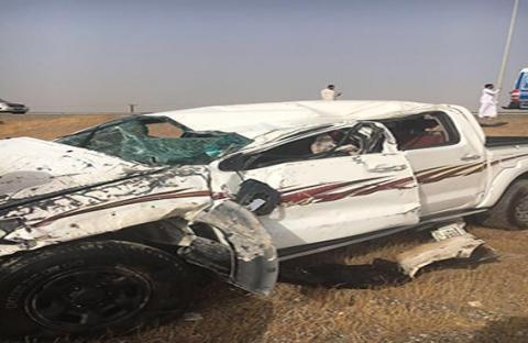 وفاة مواطنين وإصابة ثالث في حادث مروري برأس الخيمة