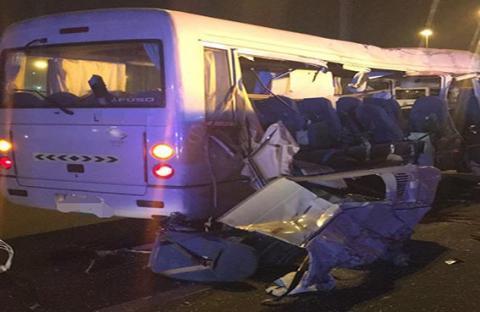 وفاة 5 أشخاص وإصابة 4 آخرين إثر حادث بليغ على شارع الرباط
