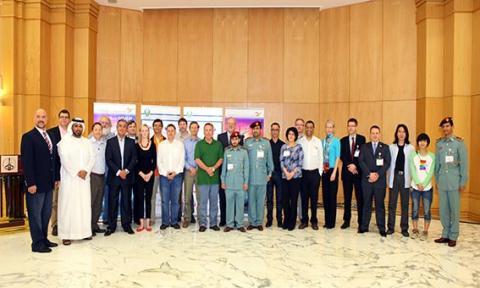 اختتام مؤتمر الائتلاف الدولي في أبوظبي