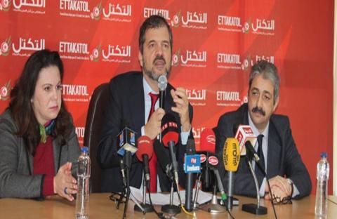 فتيل العزل السياسي يشتعل بين التكتل ونداء تونس..!