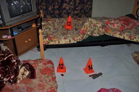 الساطور والسكين من أدوات الجريمة .. شرطة رأس الخيمة تكشف غموض جريمة مقتل زوجة عربية
