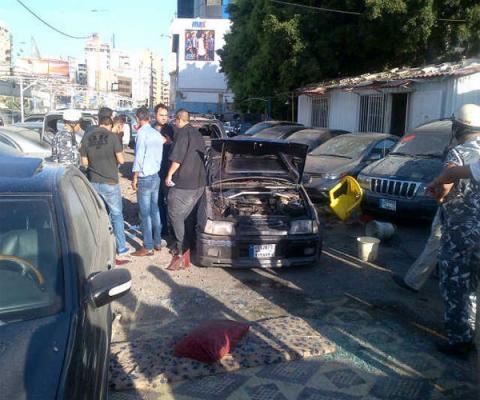 سقوط صاروخين على معقل حزب الله في الضاحية الجنوبية