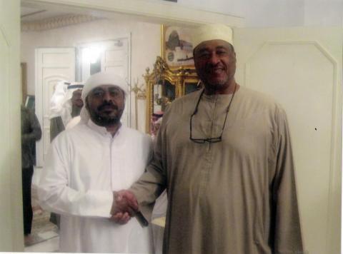 المؤرخ الباحث الدكتور محمد عبد المطلب يصل دبي
