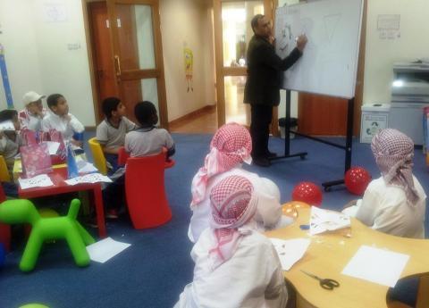 مركز وزارة (الثقافة) بمسافي يطلق مشروع بلغتي أتواصل