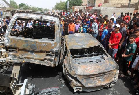 سلسلة تفجيرات في بغداد تودي بحياة العشرات