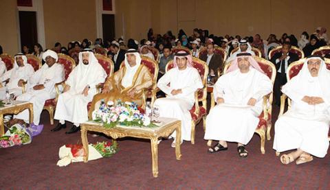 فيصل بن صقر يشهد افتتاح مخيم البسمة السادس للسكري