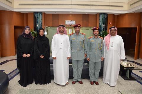 وزارة الثقافة تستقبل وفدا من القيادة العامة لشرطة الفجيرة