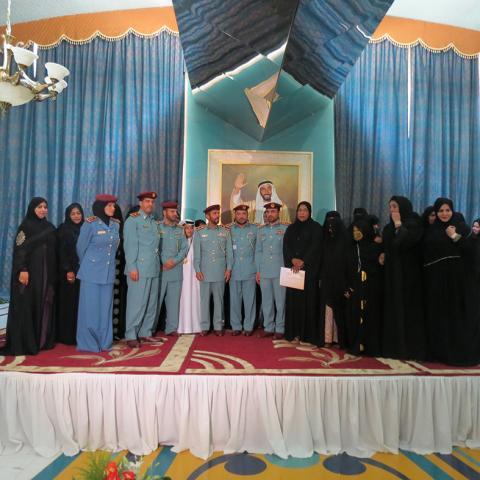 تحت رعاية أم الإمارات: لجنة حواء بالداخلية تحتفي بالأم