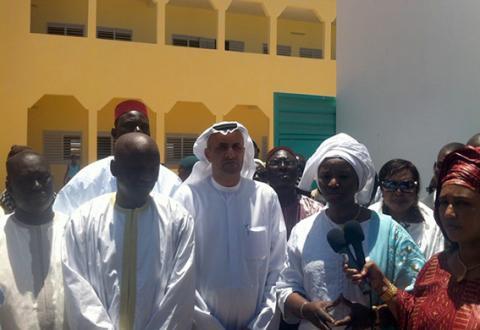 تدشين مجمع الهلال الأحمر في السنغال