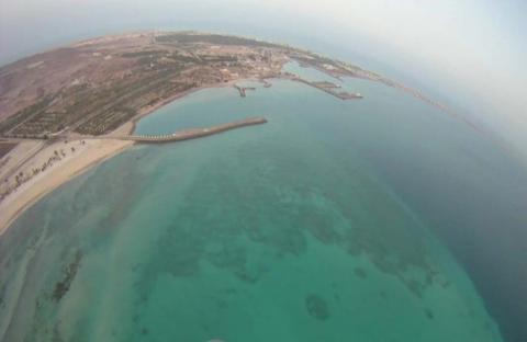 جزيرة دلما..سحر الطبيعة وتاريخ يحكي حضارة عريقة