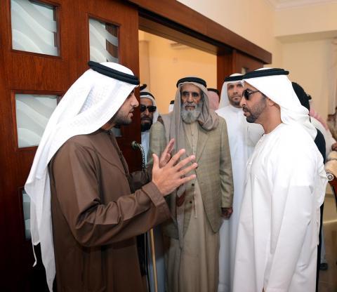 حمدان بن زايد: دعم رئيس الدولة ومتابعة محمد بن زايد وراء برامج تطوير المشروعات في المنطقة الغربية