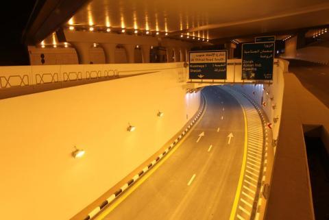 راشد النعيمي يؤكد أن جسر الشيخ خليفة بعجمان من أهم المنجزات بالإمارة في هذا العام