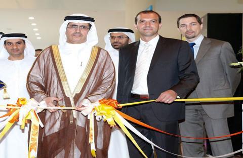 سعيد الطاير يفتتح معرض الإضاءة 2013 في دبي