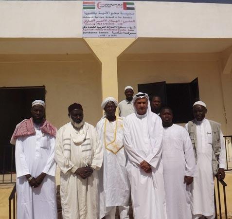 سفارة الدولة تدشن عددا من الآبار ومدرسة في غامبيا