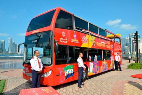 شروق تعلن بدء عمل الحافلات السياحية في الشارقة