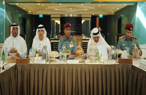 فريق طوارئ أبوظبي يعقد اجتماعه الخامس