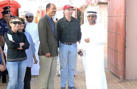 تنظيم سباق الإبل التراثي بمدينة زايد ضمن فعاليات مهرجان الظفرة