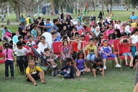بلدية مدينة أبوظبي تنظم مهرجان الجاليات في حديقة الخالدية