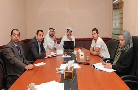 محاكم دبي تدرب مكاتب خدمات السكرتارية المعتمدة على نظام تسجيل القضايا عن بعد