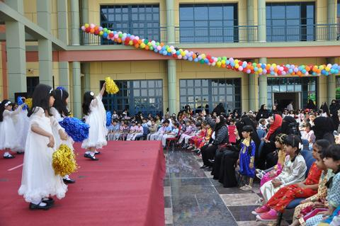 مراكز وزارة (الثقافة) تختتم الاحتفال بكرنفال الربيع