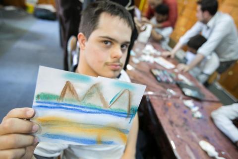للسنة الرابعة على التوالي .. ورش عمل فنية لذوي الاحتياجات الخاصة بتنظيم من مجموعة أبوظبي للثقافة والفنون