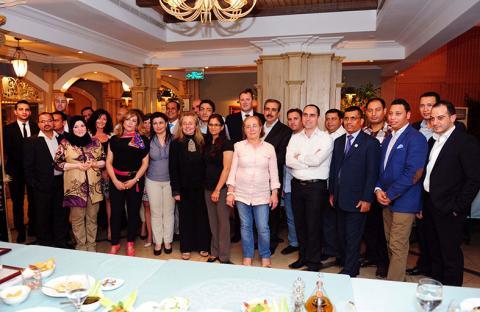 ميلينيوم أبوظبى يقيم حفل تكريم للإعلاميين
