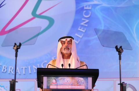 نهيان بن مبارك يفتتح مهرجان المفكرين الخامس