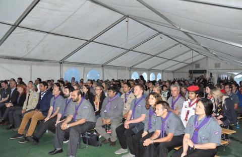 الامارات تشارك في منتدى الشباب الكشفي العالمي 2014 بسلوفينيا