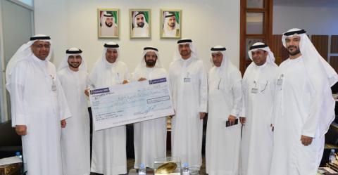 حمدان بن راشد يقدم دعما لمشاريع الطلبة بجامعة الامارات بقيمة ستمائة ألف درهم