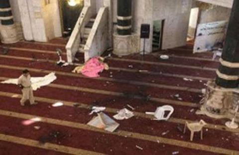 مليشيات تهاجم مسجدا وتقتل كافة المصلين وخطيب الجمعة!