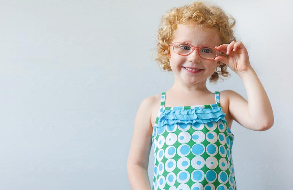 أسباب وأعراض قِصر النظر لدى الأطفال
