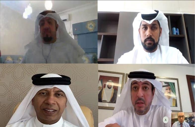 لجنة أوضاع وانتقالات اللاعبين تعقد اجتماعها الأول بنظام الاتصال المرئي