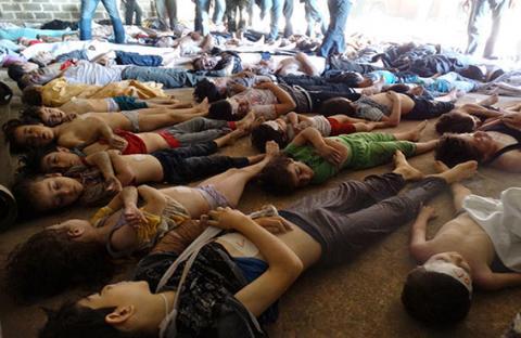 سوريا توزع اسلحتها الكيماوية في عشرات المواقع