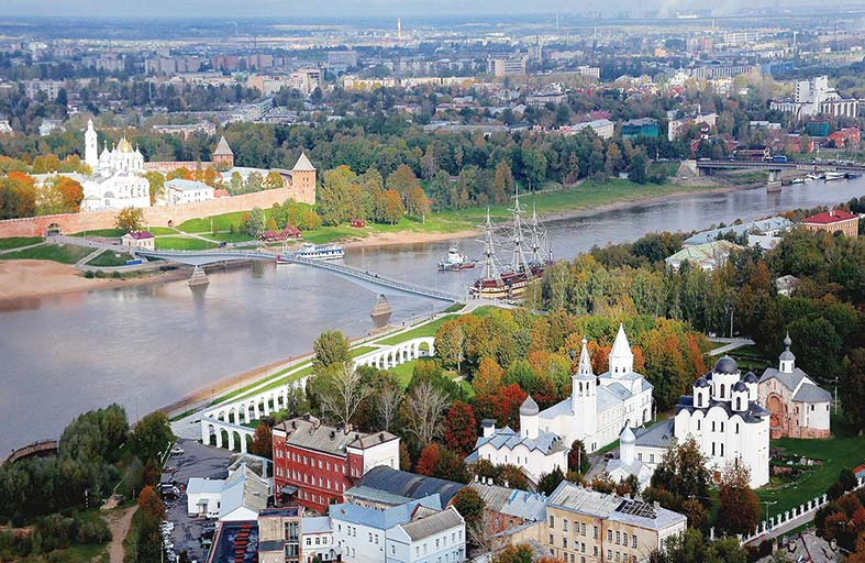 مدينة فيليكي نوفغورود.. من أشهر المدن التاريخية في روسيا