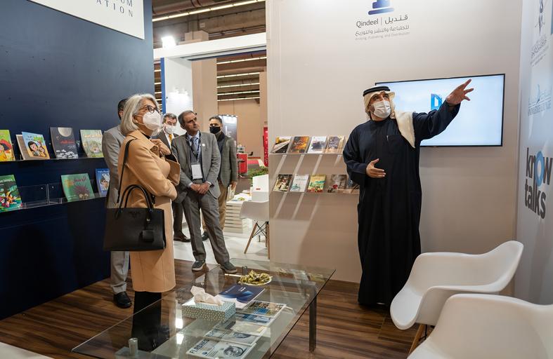 محمد بن راشد للمعرفة تختتم مشاركتها في معرض فرانكفورت للكتاب