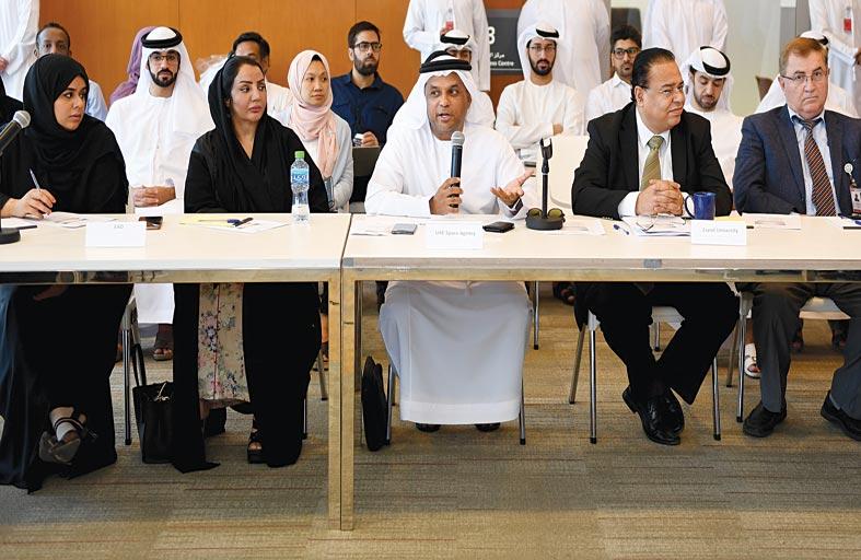 «مجموعة الإمارات للابتكار الفضائي» تعقد اجتماعها التاسع في جامعة الإمارات