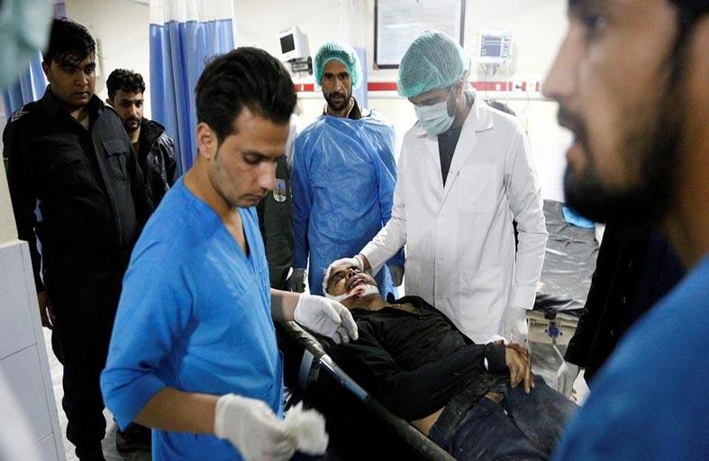 دوي انفجار وإطلاق نار في وسط كابول